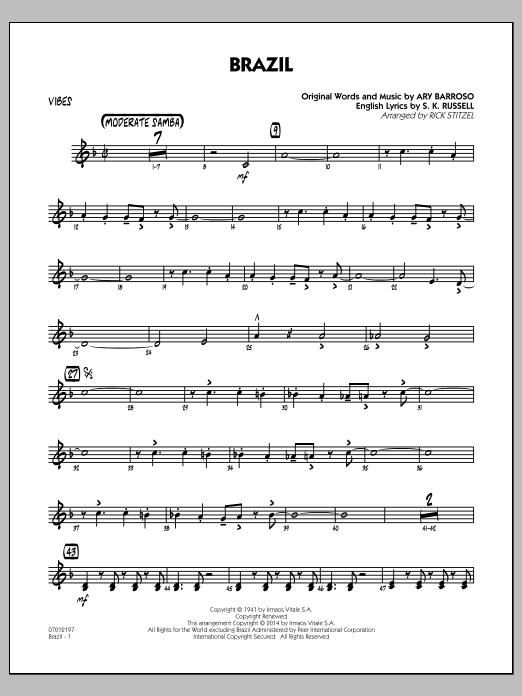 Brazil - Vibes (Jazz Ensemble)