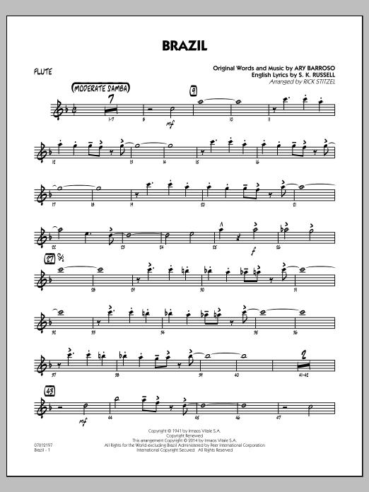 Brazil - Flute (Jazz Ensemble)