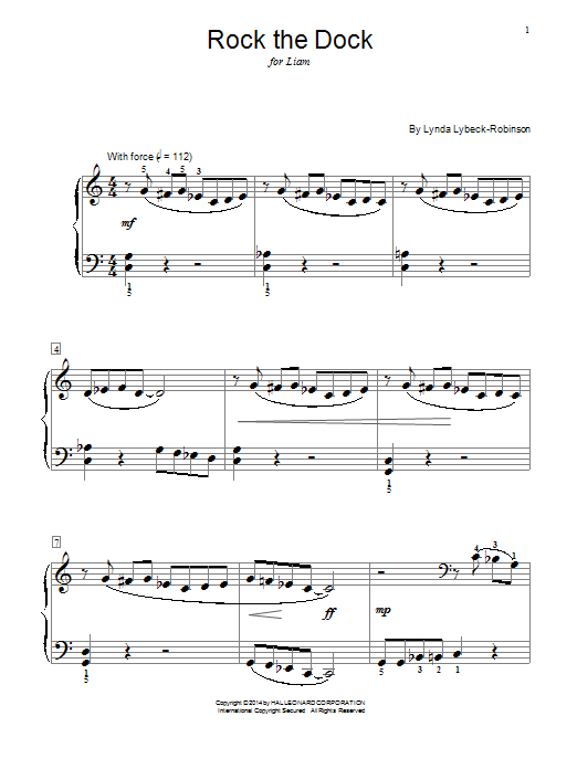 Rock The Dock Sheet Music
