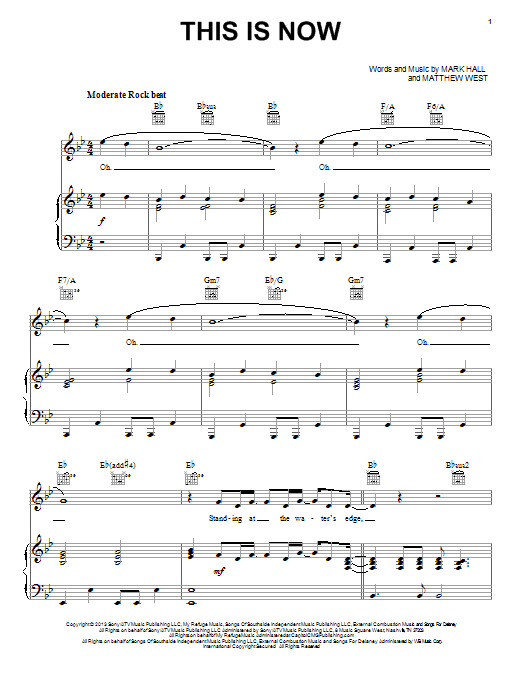 This Is Now Sheet Music