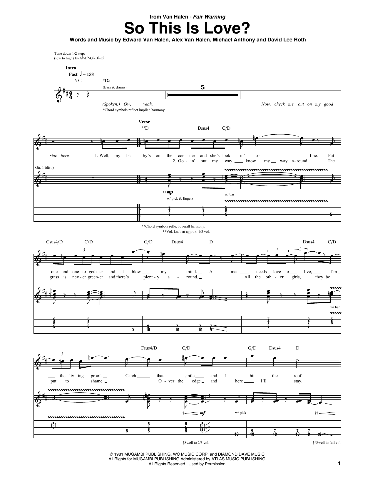 So This Is Love? Sheet Music
