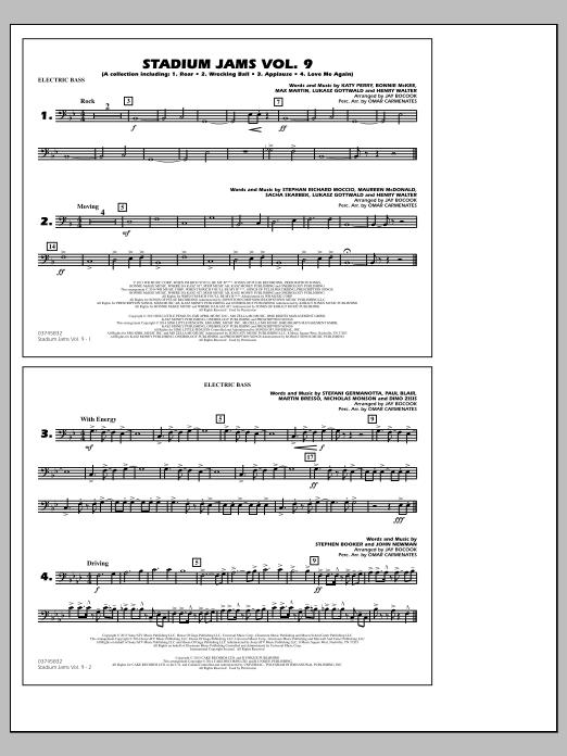 Stadium Jams - Volume 9 - Electric Bass (Marching Band)