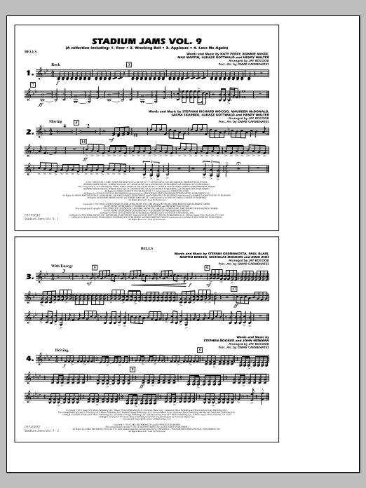 Stadium Jams - Volume 9 - Bells (Marching Band)