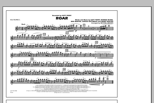 Roar - Flute/Piccolo (Marching Band)
