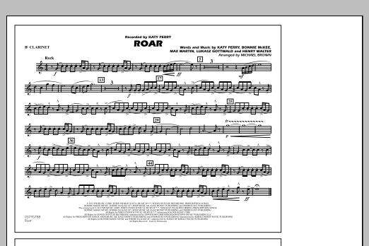 Roar - Bb Clarinet (Marching Band)