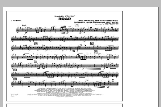 Roar - Eb Alto Sax (Marching Band)