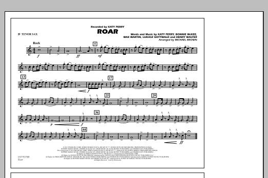 Roar - Bb Tenor Sax (Marching Band)