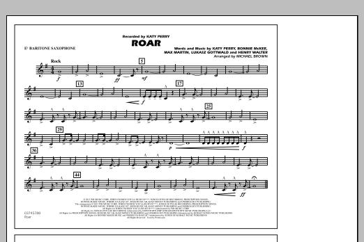Roar - Eb Baritone Sax (Marching Band)