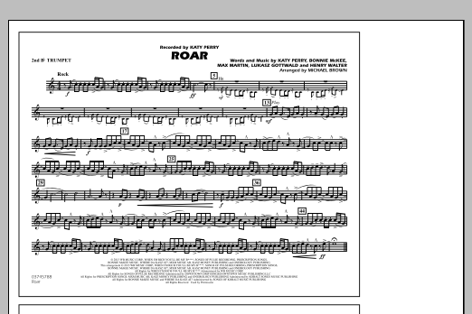 Roar - 2nd Bb Trumpet (Marching Band)