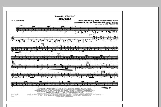 Roar - 3rd Bb Trumpet (Marching Band)