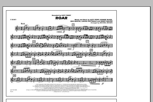 Roar - F Horn (Marching Band)