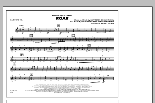 Roar - Baritone T.C. (Marching Band)