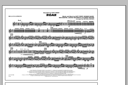 Roar - Bells/Xylophone (Marching Band)