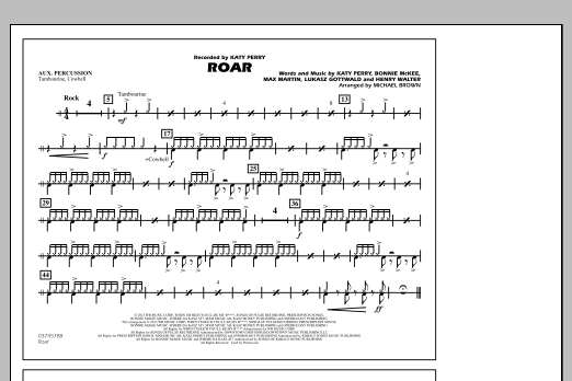 Roar - Aux Percussion (Marching Band)