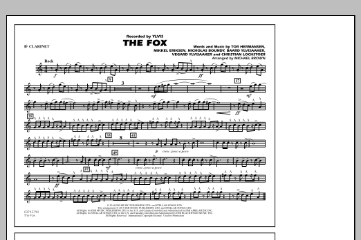 The Fox - Bb Clarinet (Marching Band)