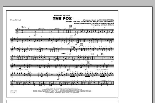 The Fox - Eb Alto Sax Sheet Music