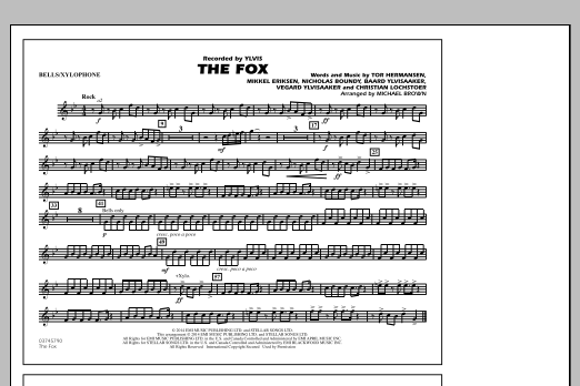 The Fox - Bells/Xylophone (Marching Band)