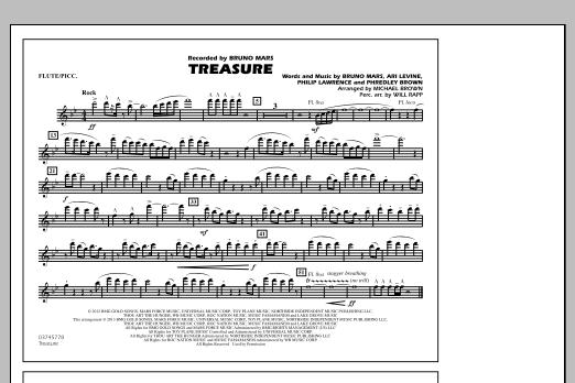 Treasure - Flute/Piccolo (Marching Band)