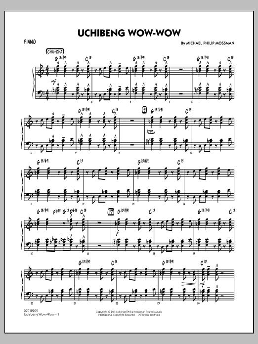 Uchibeng Wow-wow - Piano (Jazz Ensemble)