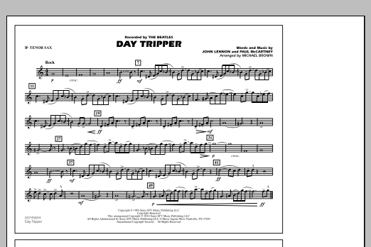 Day Tripper Electric Bass By Michael Brown John Lennon The