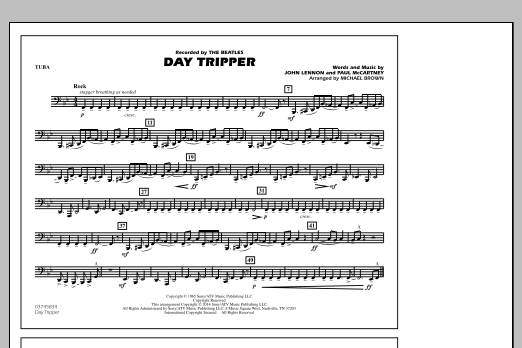 Day Tripper - Tuba (Marching Band)