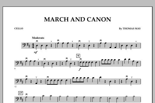 March and Canon - Cello (Orchestra)