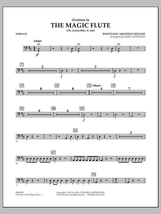 Overture to The Magic Flute - Timpani (Orchestra)