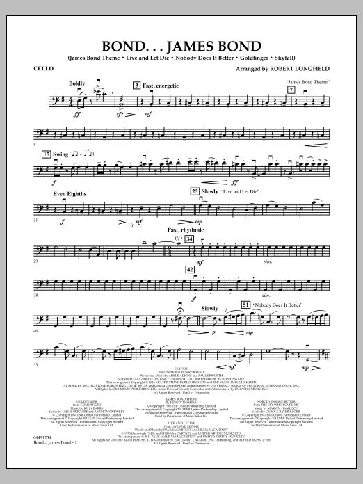 Bond...James Bond - Cello (Orchestra)