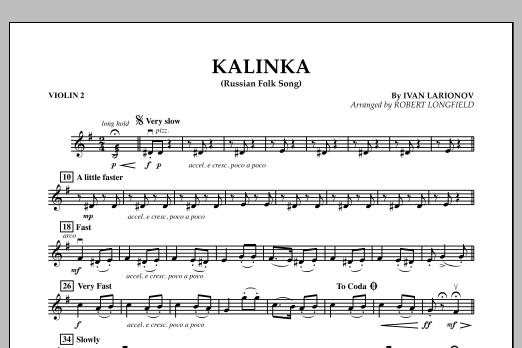 Kalinka - Violin 2 (Orchestra)