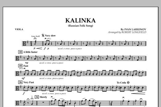 Kalinka - Viola (Orchestra)
