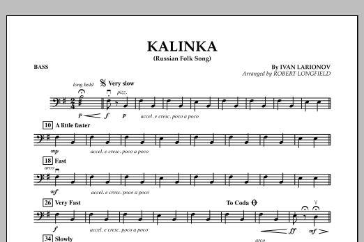 Kalinka - Bass (Orchestra)