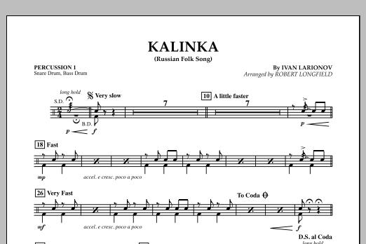 Kalinka - Percussion 1 (Orchestra)