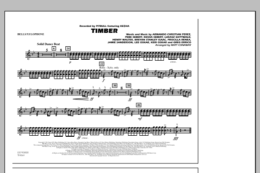 page one of Timber - Bells/XylophoneASALTTEXT