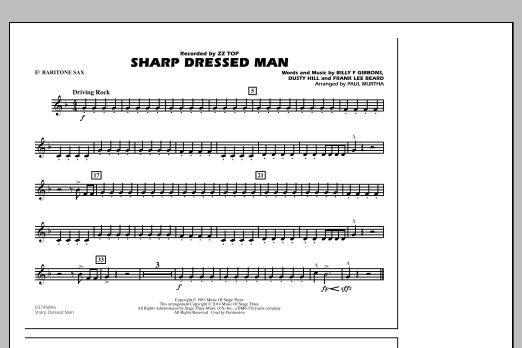 Sharp Dressed Man - Eb Baritone Sax (Marching Band)