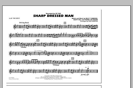Sharp Dressed Man - 1st Bb Trumpet (Marching Band)