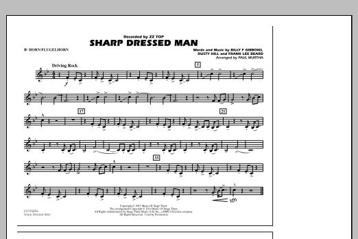 Sharp Dressed Man - Bb Horn/Flugelhorn (Marching Band)