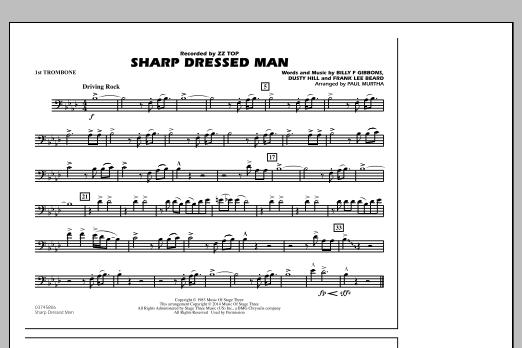 Sharp Dressed Man - 1st Trombone (Marching Band)