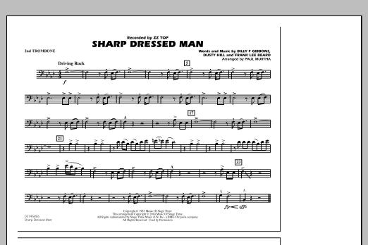 Sharp Dressed Man - 2nd Trombone (Marching Band)