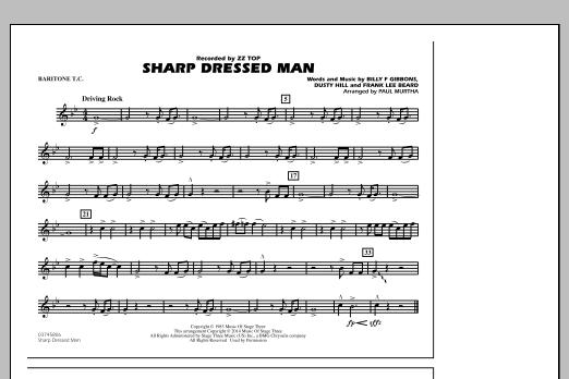 Sharp Dressed Man - Baritone T.C. (Marching Band)
