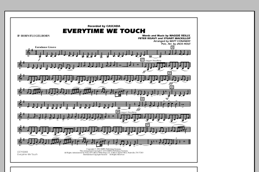 Everytime We Touch - Bb Horn/Flugelhorn (Marching Band)