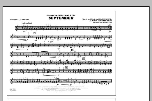 September - Bb Horn/Flugelhorn (Marching Band)