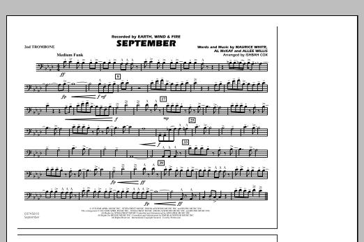 September - 2nd Trombone (Marching Band)