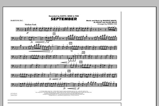 September - Baritone B.C. (Marching Band)