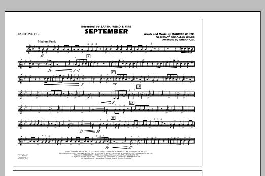 September - Baritone T.C. (Marching Band)