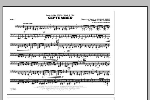 September - Tuba (Marching Band)