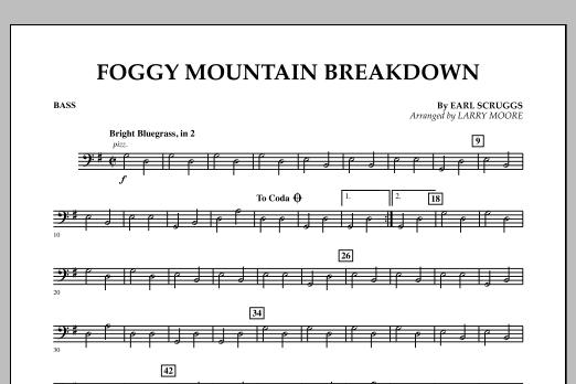 Foggy Mountain Breakdown - Bass (Orchestra)