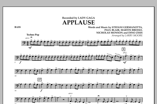 Applause - Bass (Orchestra)
