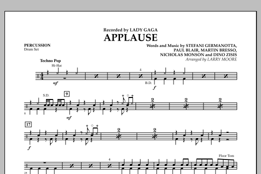 Applause - Percussion (Orchestra)