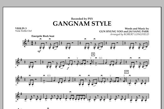 Gangnam Style - Violin 3 (Viola Treble Clef) (Orchestra)