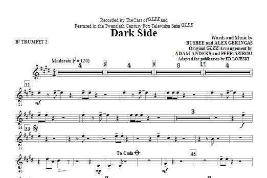 Dark Side - Bb Trumpet 2 (Choir Instrumental Pak)